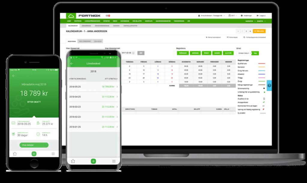 Fortnox ekonomiprogram på webben och i mobilen